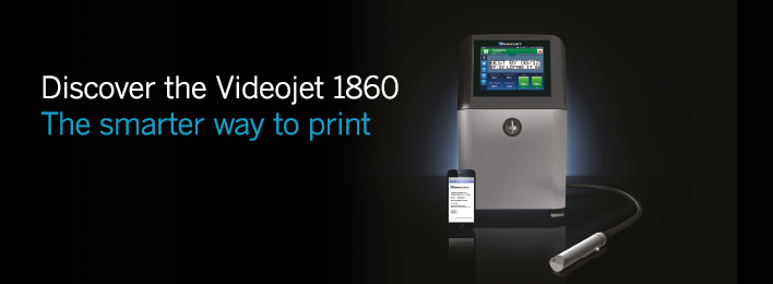The NEW Videojet 1860 Industrial Inkjet Printer
